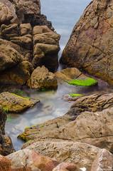 IN (haddadzakaria) Tags: longexposure water landscape algeria jijel grandphare seasacape