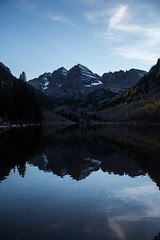 IMG_7966a (markbyzewski) Tags: mountain lake twilight colorado aspen maroonbells