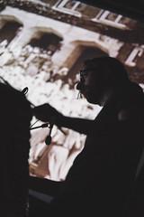 Visioni Sonore 039 (Cinemazero) Tags: jazz biblioteca chiostro pordenone busterkeaton cinemamuto jorisivens cinemazero zerorchestra visionisonore claudiocojaniz giannimassarutto massimodemattia