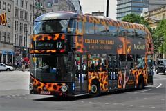 TFL Routemaster. LTZ1436 (standhisround) Tags: uk bus london westminster trafalgarsquare vehicle routemaster londontransport transportforlondon ltz1436