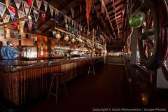 The Flag Deck (3scapePhotos) Tags: travel sea vacation beach bar club sailboat island islands boat sailing yacht flag virgin deck beaches end tropical british gorda caribbean tropics bitter bvi britishvirginislands virgingorda bitterend