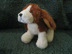 Basset Hound (Beanies and Webkinz 457) Tags: dog hound basset lil bassethound kinz lilkinz