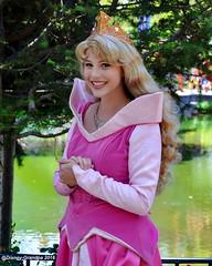 Princess Aurora_0722 (Disney-Grandpa) Tags: portrait disneyland disneyprincess princessaurora