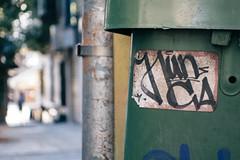 Nunca (mike ion) Tags: brazil brasil graffiti sticker rua paulo sao so vlok grafite nunca handstyle