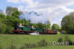 14th May 2016. Saturday of the Bluebell's Southern at War weekend. (Dangerous44) Tags: vintage war weekend railway steam engines bluebell locomotives