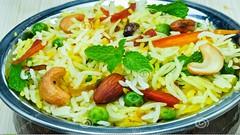 Vegetable Biryani - South Indian Recipes, (asithmohan29) Tags: food cooking recipe vegetable vegetarian recipes biryani southindian maincourse maindish indianrecipes southindianrecipes vegetablebiryani ricerecipes biryanirecipes recipesv baisakhirecipes