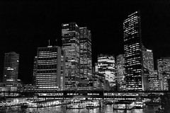 Circular Quay city skyline (Ruth Spitzer) Tags: city longexposure skyline canon photography cityscape harbour sydney circularquay cityskyline 2016 sydneycbd canonaustralia vividsydney ruthspitzerphotography vividsydney2016 2016june