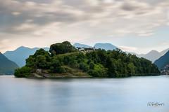 Isola Comacina (JackX91) Tags: isola island lago lake como water acqua terra eartu albero tree natura cielo sky nature cloud nuvole chiesa church