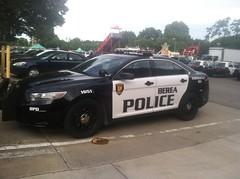 Berea Police Department - Ford Taurus Police Interceptor Sedan [2] (Sergiyj) Tags: ohio ford sedan police emergency taurus interceptor berea 2013
