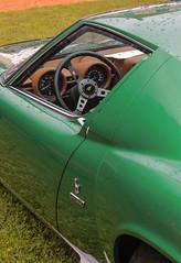 Perfect green lines (NaPCo74) Tags: santa italy orange green de 1971 italian italia suisse chateau concours lamborghini supercar italie sv agata elegance v12 coppet miura lgance ferruccio p400