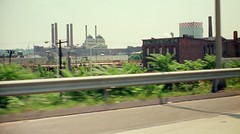 Zooming up I-91 in my dad's 1965 Pontiac Bonneville. The United Illuminating English Station was still in use as was the giant New Haven Gas storage tank. Abandoned tenements happily coexist with thriving ghetto palms. New Haven Connecticut. July 1973 (wavz13) Tags: urban industry industrial grain smokestacks highways oldphotographs grainy oldphotos analogphotography kodacolor instamatic vintagephotos gasometers oldphotography filmphotography oldfactory vintagephotographs urbanwasteland submini 110film oldindustry industrialwasteland elmcity vintagephotography oldfactories vintageindustrial oldindustrial 1970sphotos vintagefactory connecticutphotography vintageindustry connecticutphotos vintagenewhaven oldnewhaven oldhighways 1970sphotographs vintageconnecticut 1970sphotography oldconnecticut 1970sconnecticut 1970snewhaven vintagefactories vintagehighways connecticutphotographs oldconnecticutphotography oldconnecticutphotos