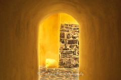 Inside the walls (halfpennysanchez) Tags: southafrica town colours fort cape walls colourful passage goodhope dutchindia