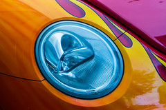 Trippy Stuff. (Omygodtom) Tags: abstract color art car vw composition cool nikon colorful perspective tamron d7100