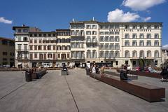 Piazza di Santa Maria Novella (calimelolo) Tags: vacances florence toscane objectif voigtlanderultron21mmf18asph