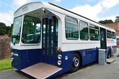 British Airways (PD3.) Tags: bus london buses museum vintage coach transport surrey trust swift preserved preservation stringer wadham psv pcv brooklands 2016 aec llh lbpt llh889k 889k cobhaml