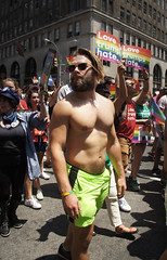 Pose (EC Stainsby) Tags: street nyc newyorkcity summer usa ny newyork fun outdoor colorfull pride parade east lgbt avenue fifth thirtieth colourfull sunnny