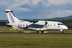 G-BYMK.EDI050716 (MarkP51) Tags: gbymk dornier do328110 flybe loganair dundeecityofdiscovery turboprop edinburgh airport edi egph scotland aviation aircraft airplane plane image markp51 nikon d7200