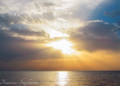 The Sky (Francesco Impellizzeri) Tags: sunset seascape clouds landscape ngc sicilia trapani