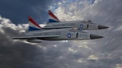 Convair F-102 'Delta dagger' (rudyvandeleemput) Tags: art aviation military delta rudy dagger convair f102 leemput ruudster rudigiart rudigi ruudsterstyle rudigistyle