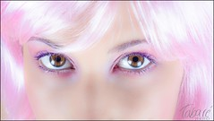 Pink eyes (Tabar Neira) Tags: pink portrait beauty eyes soft retrato rosa ojos suave tabare valaingaur