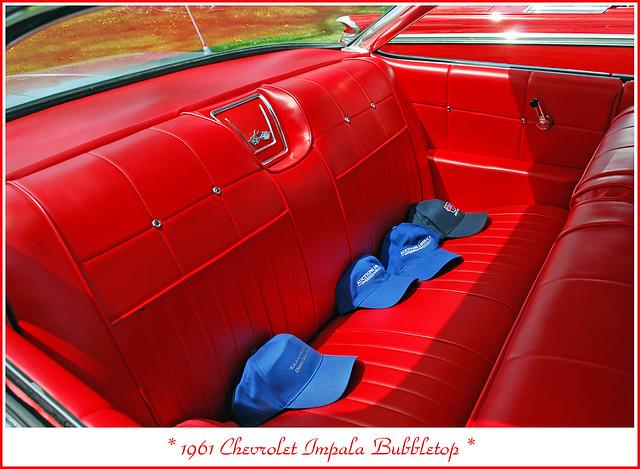 backseat 1961chevroletimpala 2013showshine
