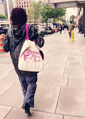 pretty girls read books (ekelly80) Tags: woman bag walking washingtondc dc downtown sidewalk dcist connecticutavenue welovedc may2013 uploaded:by=flickrmobile flickriosapp:filter=nofilter prettygirlsreadbooks
