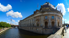 The Museum (dldx) Tags: panorama sun berlin architecture germany deutschesmuseum museuminsel museumisland