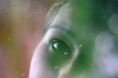 (Send me adrift.) Tags: portrait selfportrait eye texture water rain self project 50mm spring focus colorful tears days layer rotation 365 cry tones edit selfie 365days 128365 pse11