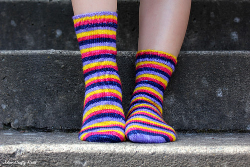 April Showers Socks - Front
