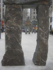 Human Nature Exhibit at 30 Rock Statues 9647 (Brechtbug) Tags: from street new york city nyc art feet nature public june rock stone 30 by artist display manhattan nine s center exhibit midtown part human tall 16 through 20 rockefeller 50th figures sculptures ugo fund rondinone 2013 ranging