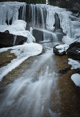 the portals . sierra nevada . thawing waterfall (Peter Rivera) Tags: california travel mountains water landscapes nikon arch nevada alabama sierra hills portals rivera d800 lathe