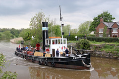 'Kerne' Pickerings Lock 17th May 2013 (John Eyres) Tags: cheshire tug weaver dutton kerne