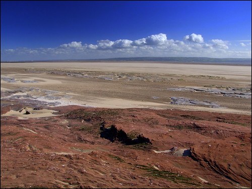 The Dee Estuary from Little eye 22nd May 2013
