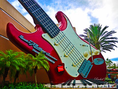 Rock On (Rachel_Ricci) Tags: trees red music tree green car rock fun orlando ride florida guitar fast disney limo palmtrees disneyworld palmtree hollywood record roll rocknroll waltdisneyworld studios mgm aerosmith thrill rocknrollercoaster hollywoodstudios rockrecord