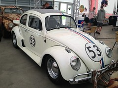 Herbie Fully Loaded (Gumby_Mac72) Tags: volkswagen beetle herbie effingham funfest midamericamotorworks