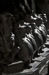 Hapi (Nile God) (Ren Mouton) Tags: statue licht god egypt aswan zon egypte beeld  hapi hapy asuan  beeldjes  syene mir assoean  swentet nijlgod zoonvanhorus