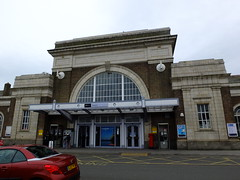 Margate Railway Station (failing_angel) Tags: architecture kent railwaystation margate 120513 margaterailwaystation edwinmaxwellfry