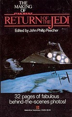 Making of RotJ (Mark West (strange tales)) Tags: book starwars paperback returnofthejedi