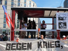 Rote Karte (langkawi) Tags: berlin mr no president rally protest obama drones