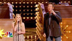 Danielle Bradbery and Blake Shelton Timber, Im Falling in Love THE VOICE  Season Four Performance (HOLLYWOOD JUNKET) Tags: music love television june nbc tv video team im timber duet performance danielle falling entertainment shelton reality 17 blake countrymusic blakeshelton 2013 singingcompetition teamblake bradbery nbcthevoice 0835pm daniellebradbery thevoiceseasonfour timberimfallinginlove