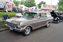"1964 Chevrolet Chevy II Nova (DVS1mn) Tags: msra""backtothe50′s""40thanniversaryjune2123 2013 state fairgrounds stpaul minnesota stationwagon longroof estate shootingbrake estatecar estatewagon station wagon chevy gm generalmotors chevrolet bowtie 1964 ii nova 64"