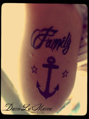 Anchor Family Hope Tattoo (dariolamarcaink) Tags: family tattoo hope anchor ncora