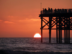 Crystal Pier, Mission Beach - San Diego, California (Andrea Moscato) Tags: sunset sea usa beach america unitedstates pacificocean shore statiuniti flickrsfinestimages1 andreamoscato