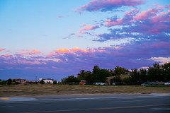 Evening Sky (ben.bibikov) Tags: road sky clouds evening fuji fujifilm xe1