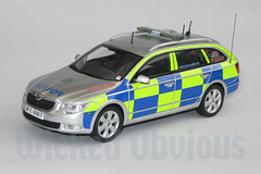 1/43 PSNI Skoda Superb Road Policing (wicked_obvious) Tags: model sticker decal transfer diecast code3