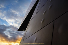National Museum 2   2 (francisling) Tags: new sunset abstract museum wales architecture zeiss 35mm t dusk sony south capital australia cybershot national canberra concept  futuristic acton territory sonnar     rx1        dscrx1