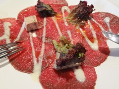 Carpaccio @Italian Restaurant, Shanghai (Phreddie) Tags: china food happy restaurant italian yum shanghai sunday delicious eat brunch 130811