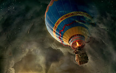 Balloon-Middle-of-Storm-Wallpaper (vinod_pednekar) Tags: