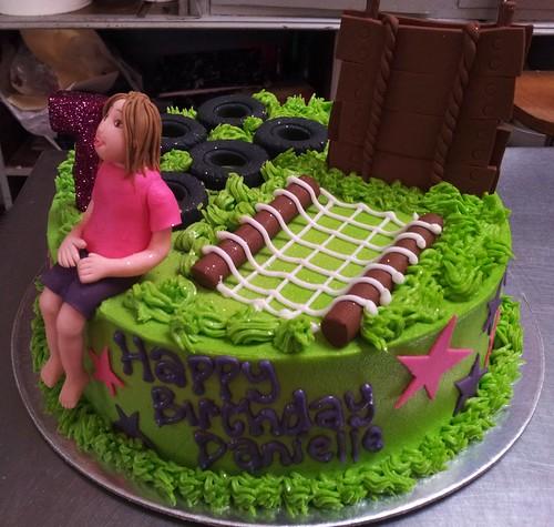 Bootcamp Themed Birthday Cake