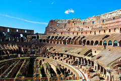 Colosseum - Rome, Italy (The Web Ninja) Tags: old travel italy rome history architecture photography fight ancient ruins europe arch roman pillar ruin arches battle colosseum arena fighting gladiator gladiators collum